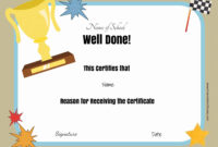 Free School Certificates & Awards with School Certificate Templates Free