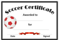Free Soccer Certificate Templates | Spiderman Face | Soccer within Soccer Award Certificate Template