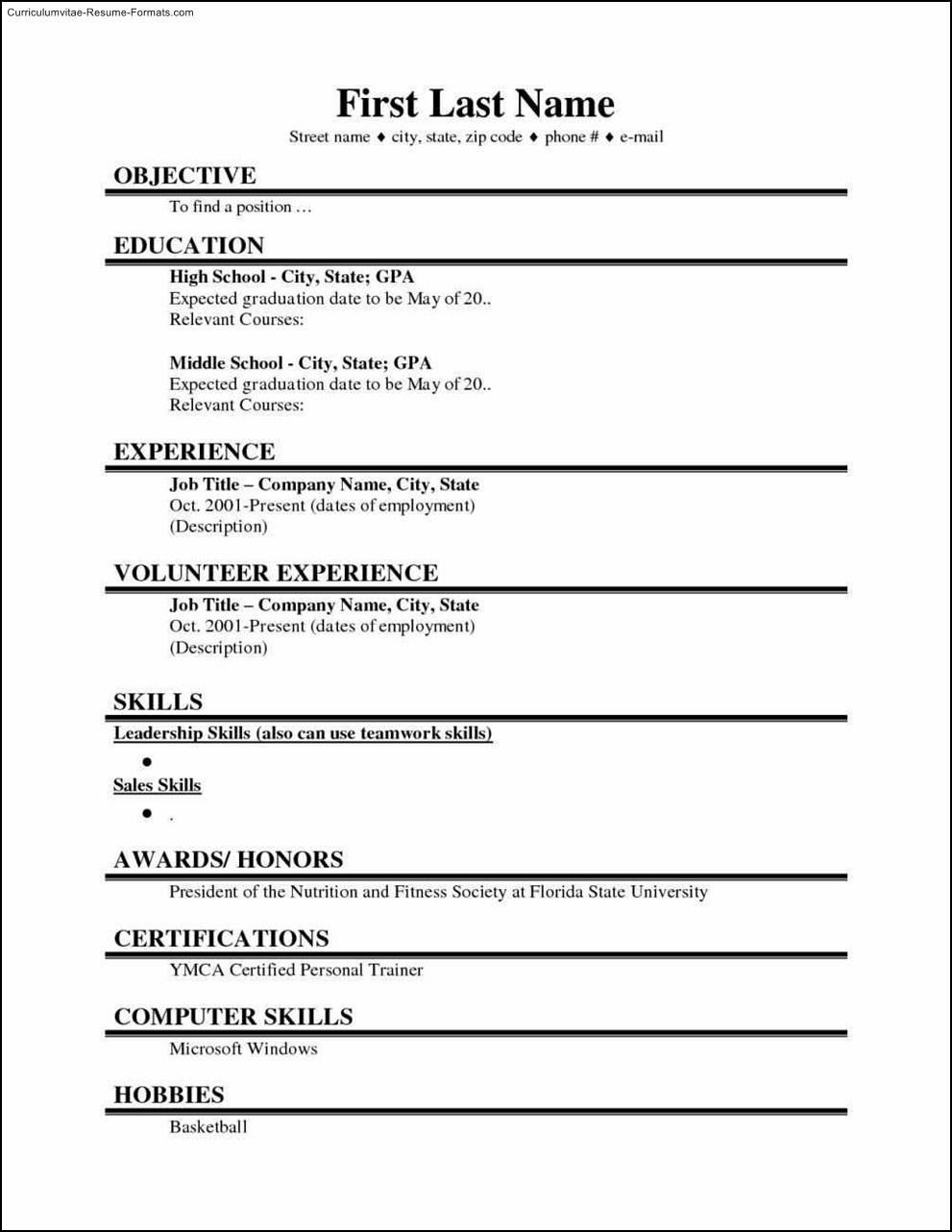 Free Student Resume Templates Microsoft Word 12 Quick Tips Inside College Student Resume Template Microsoft Word