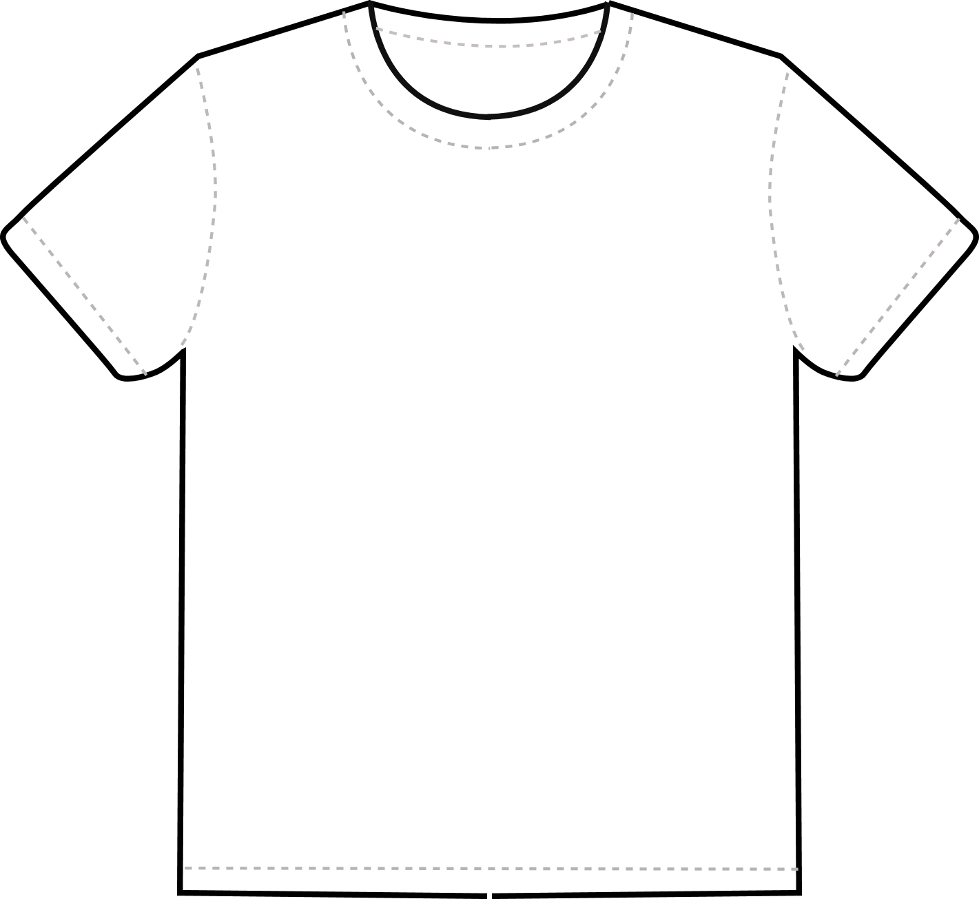 Free T Shirt Template Printable, Download Free Clip Art Pertaining To Printable Blank Tshirt Template