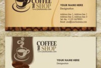 Free Templates Business Card For Coffee Shop – Google pertaining to Coffee Business Card Template Free