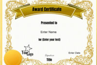 Free Templates For Certificates | Dattstar within Best Employee Award Certificate Templates