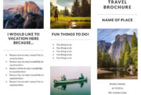 Free Travel Brochure Templates & Examples [8 Free Templates] throughout Word Travel Brochure Template
