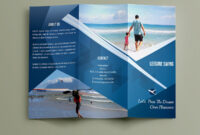 Free Travelling Trifold Brochure Template On Behance in Travel And Tourism Brochure Templates Free