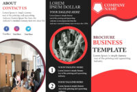 Free Tri-Fold Brochure Template – Download Free Tri-Fold regarding Adobe Tri Fold Brochure Template