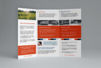 Free Trifold Brochure Template In Psd, Ai & Vector – Brandpacks throughout 3 Fold Brochure Template Free