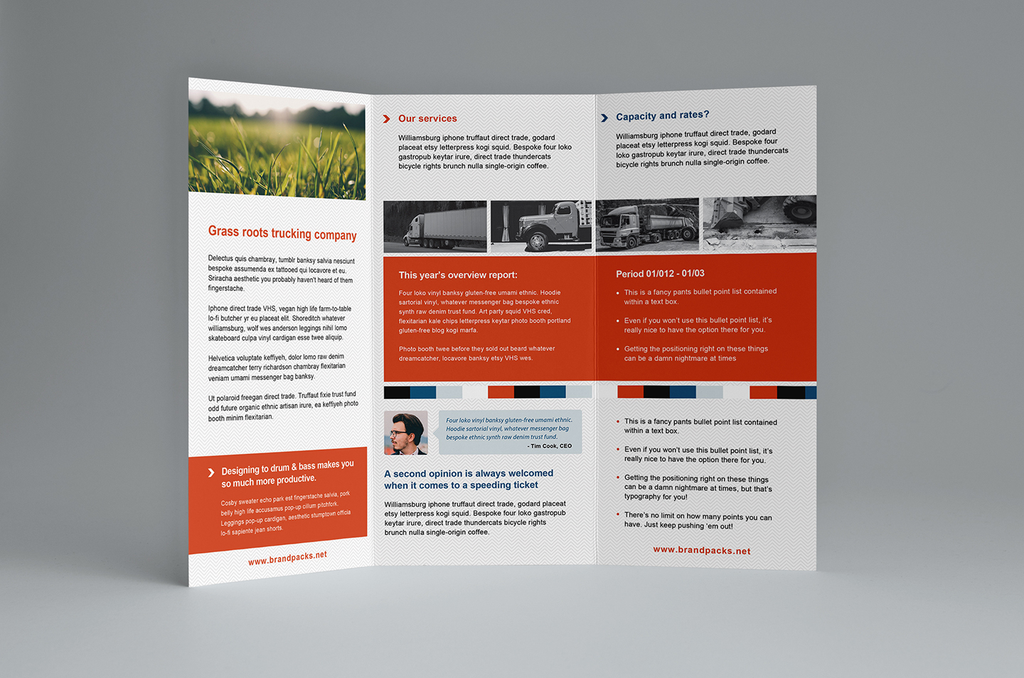Free Trifold Brochure Template In Psd, Ai & Vector - Brandpacks Throughout 3 Fold Brochure Template Free