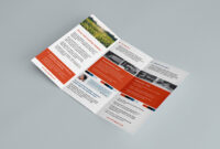Free Trifold Brochure Template In Psd, Ai & Vector within Pop Up Brochure Template