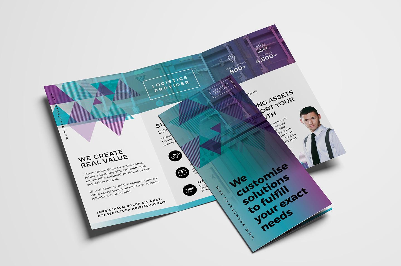 Free Trifold Brochure Template Vol.2 In Psd, Ai & Vector Pertaining To 2 Fold Brochure Template Free