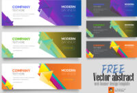 Free Vector Abstract Web Banner Design Templatemri with regard to Free Website Banner Templates Download