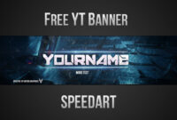 Free Youtube Banner Template (Psd) *new 2015* for Banner Template For Photoshop