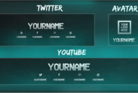 Free Youtube Banner + Twitter Header Template Psd + Direct Download Link –  [New 2015!] with Twitter Banner Template Psd