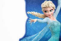 Frozen: Free Printable Cards Or Party Invitations. – Oh My pertaining to Frozen Birthday Card Template