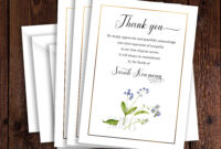 Funeral Thank You Card Template, Sympathy Acknowledgement throughout Sympathy Thank You Card Template