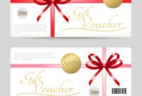 Gift Card Or Gift Voucher Template regarding Gift Card Template Illustrator