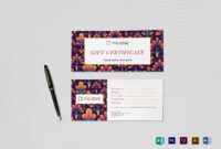 Gift Certificate Template in Publisher Gift Certificate Template