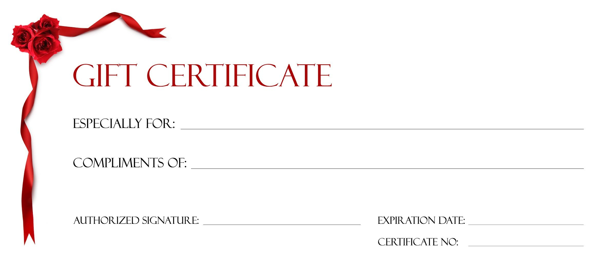 Gift Certificate Templates To Print   Gift Cards Template Within Printable Gift Certificates Templates Free