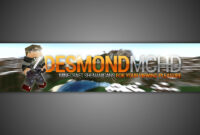 Gimp | Minecraft Youtube Banner Template [No Photoshop] Inside Gimp Youtube Banner Template
