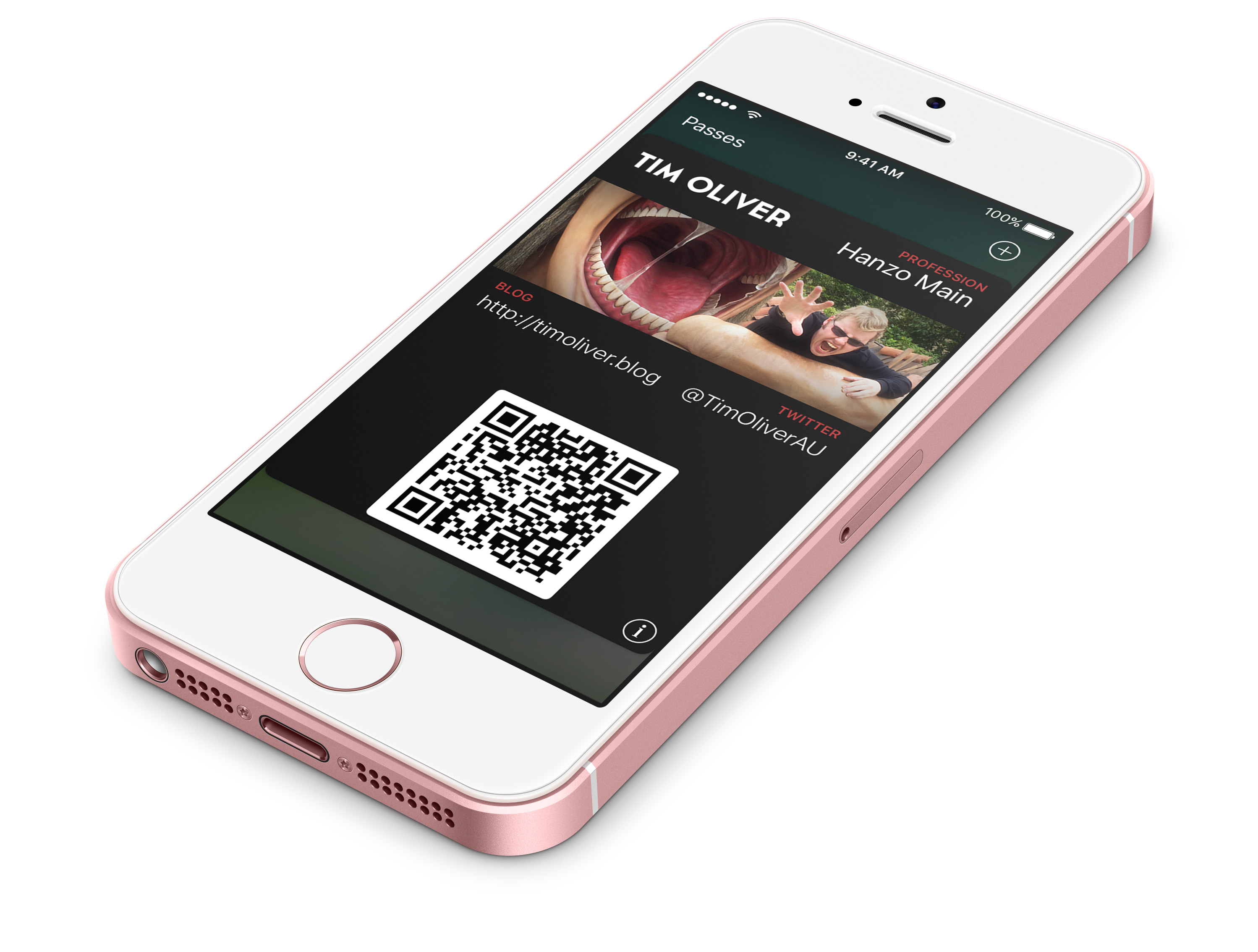 Github – Timoliver/passkit Business Card: A Template For Ios With Iphone Business Card Template