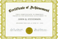 Gold-Banner-Award-Authority-Certificate-Template intended for Certificate Authority Templates