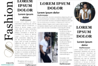 Google Docs Newspaper Template Newspaper Template For Google within Newspaper Template For Powerpoint
