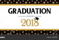 Graduation Banner Template | Graduation Class Of 2018 inside Graduation Banner Template