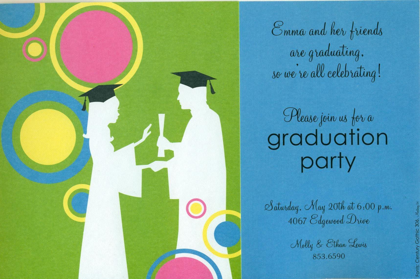 Graduation Invitation Templates Free Download   Graduation Within Graduation Party Invitation Templates Free Word