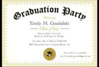 Graduation Invitations. Graduation Party Invitation pertaining to Free Graduation Invitation Templates For Word