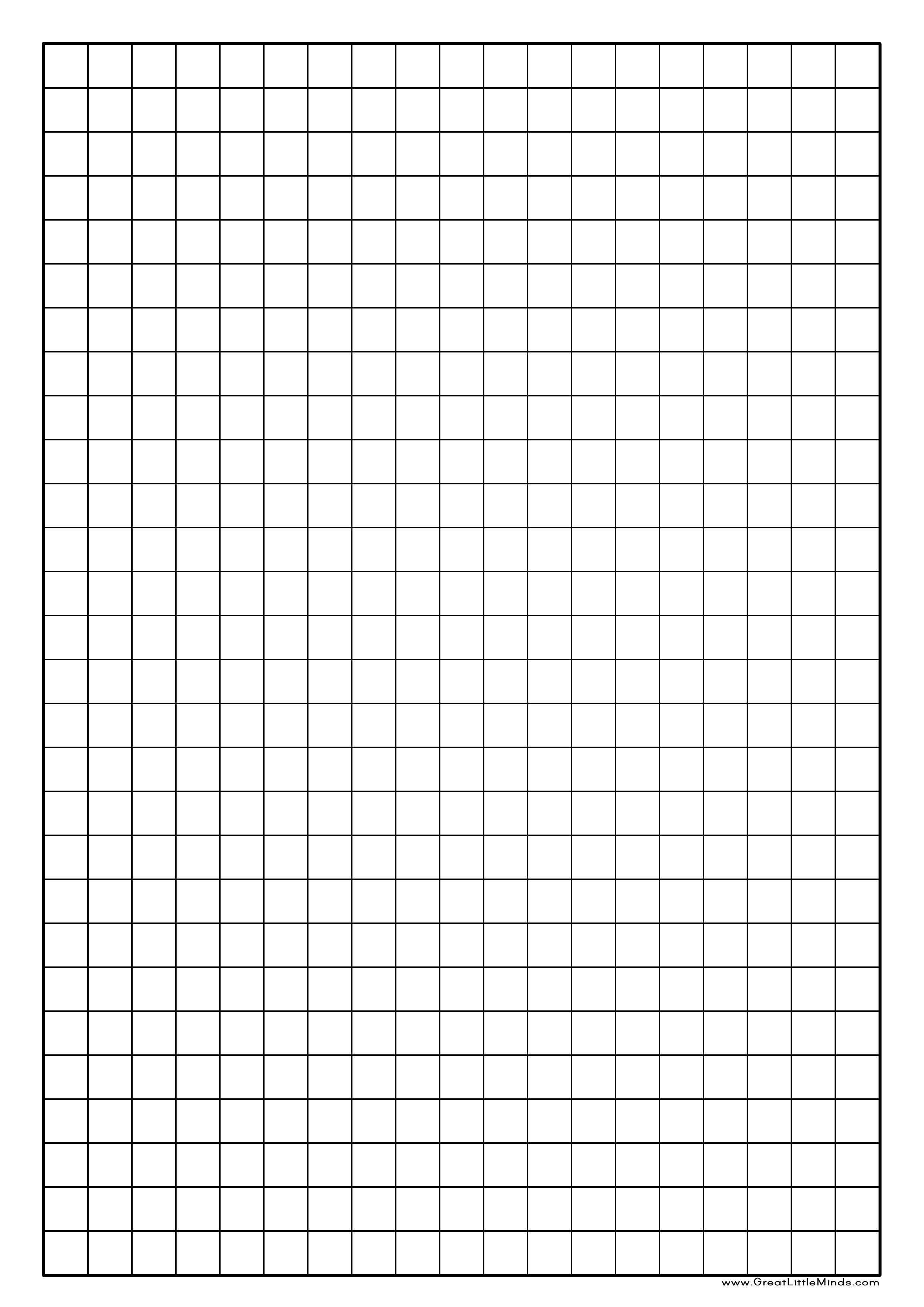 Graph Paper Printable | Click On The Image For A Pdf Version Pertaining To 1 Cm Graph Paper Template Word