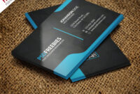 Graphic Designer Business Card Template Free Psd within Calling Card Template Psd