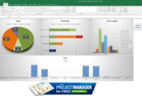 Guide To Excel Project Management – Projectmanager for Project Status Report Dashboard Template