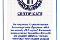 Guinness World Record Certificate Template – Corto Pertaining To Guinness World Record Certificate Template