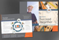 Half Fold Brochure Template For Builders Association. Order Regarding Half Page Brochure Template