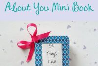 Handmade Gifts: 52 Things I Love About You Mini Book – Birch throughout 52 Things I Love About You Cards Template