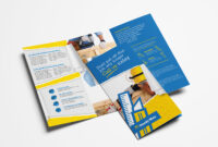 Handyman Tri-Fold Brochure Template In Psd, Ai & Vector inside Commercial Cleaning Brochure Templates