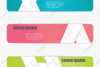 Header Banner Templates, Banner, Web, Website Png And Vector with regard to Website Banner Templates Free Download