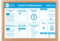Health And Safety Board Poster Template – Osg within Bulletin Board Template Word