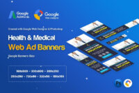 Health & Medical Banners Ad – Gwd & Psd – 07 Template Psd for Medical Banner Template