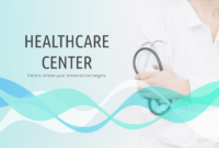 Healthcare Center – Free Presentation Template For Google for Free Nursing Powerpoint Templates