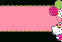 Hello Kitty Banner Template | Banner And Forum Templates with regard to Hello Kitty Banner Template
