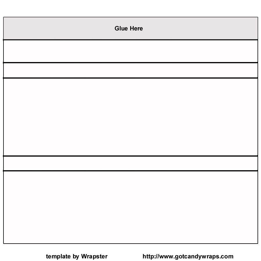 Hershey Bar Wrapper Template Free / Hershey Template Inside Blank Candy Bar Wrapper Template