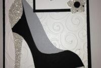 High Heel Shoe Card – Birthday Tanya Bell's High Heel Shoe pertaining to High Heel Template For Cards