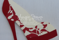 High Heel Shoe Card | Shoe Decor | Paper Shoes, Shoe With pertaining to High Heel Template For Cards