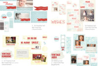Holiday Photo Card Templates | Whimsy And Good Cheer throughout Free Photoshop Christmas Card Templates For Photographers