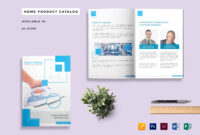 Home Product Catalog Template inside Catalogue Word Template
