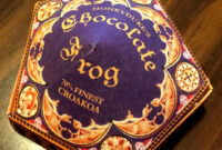 Honeyduke's Chocolate Frog Box: 6 Steps (With Pictures) within Chocolate Frog Card Template