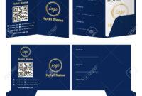 Hotel Key Card Holder Folder Package Template. throughout Hotel Key Card Template