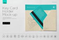 Hotel Key Card Holder Mockup   Hotel Key Cards Design with regard to Hotel Key Card Template