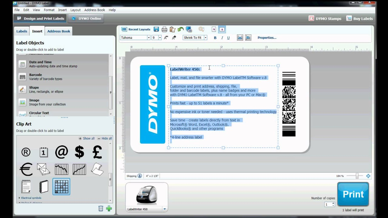 How To Build Your Own Label Template In Dymo Label Software? For Dymo Label Templates For Word