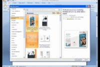 How To Create A Brochure With Microsoft Word 2007 within Ms Word Brochure Template